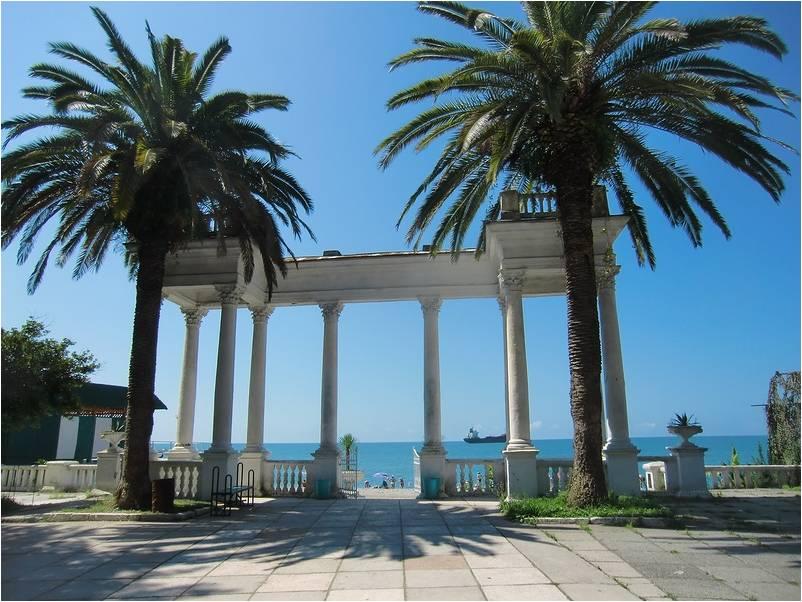 Сухум - одна из столиц Черноморского побережья
