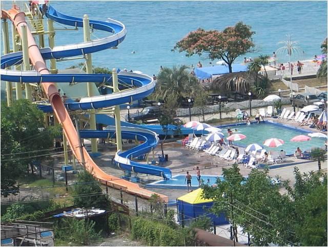 Единственный аквапарк на побережье Абхазии