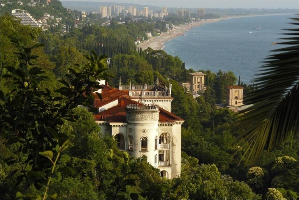 Гагра - живописный Черноморский курорт