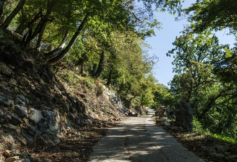 Самый сложный участок дороги к Анакопии позади