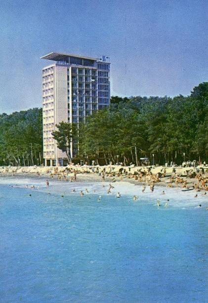 Пицунда семидесятых - визитная карточка советского курорта