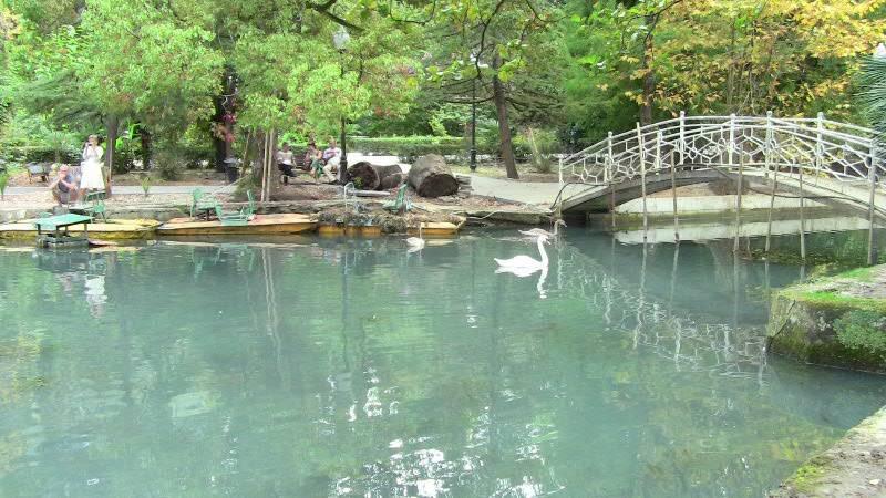 В Приморском парке Нового Афона