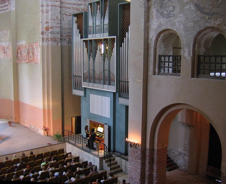 Вечер органной музыки в Пицундском соборе