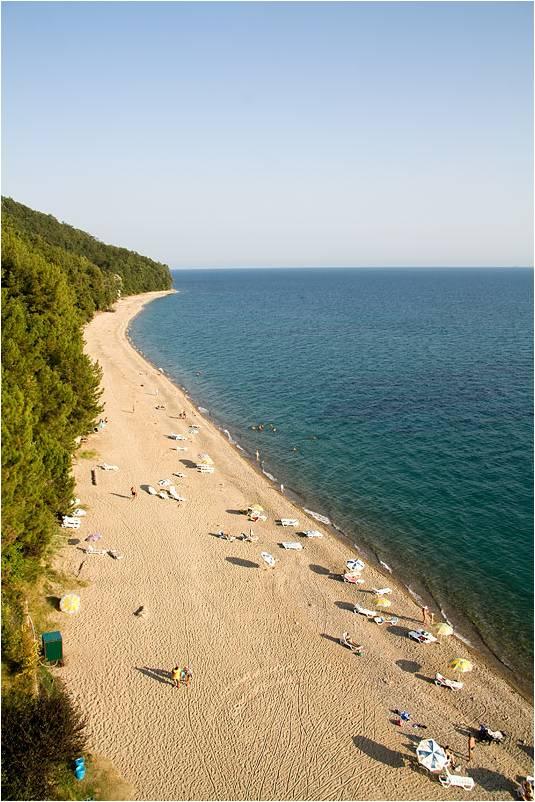 Песчаный пляж Мюссеры