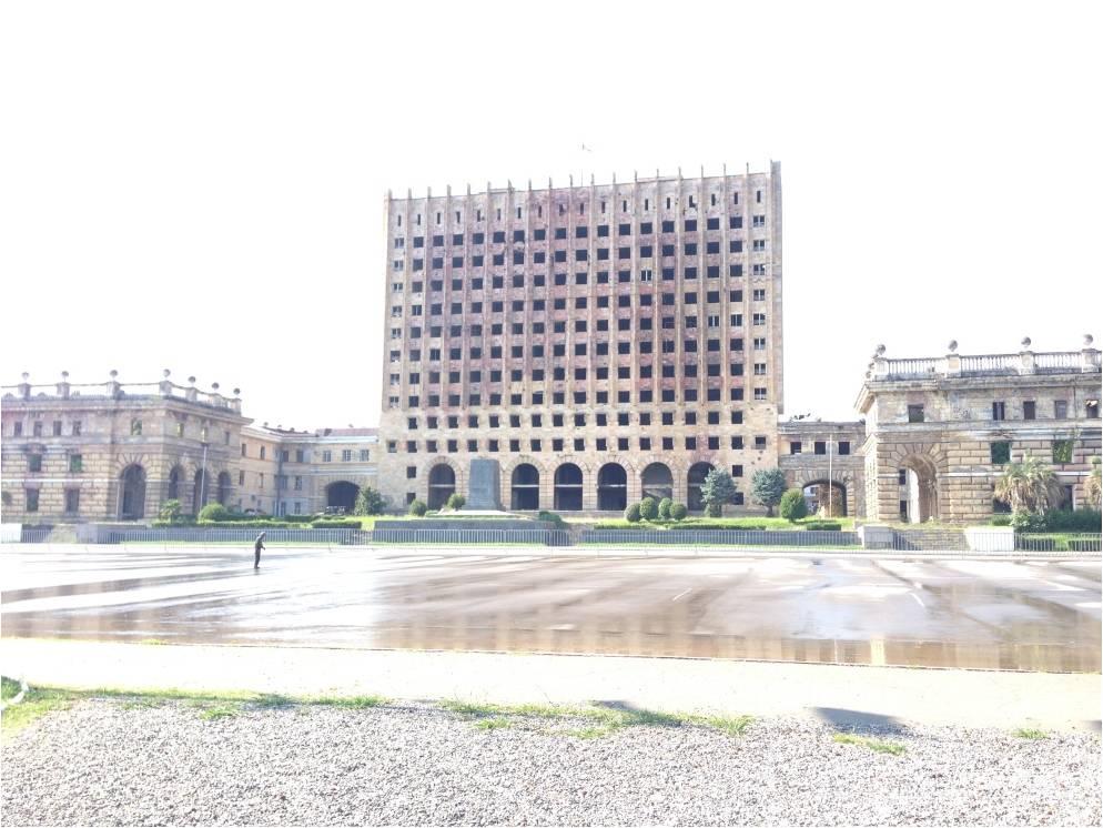 Эхо грузино-абхазской войны: бывший Дом правительства