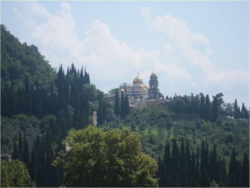 Новоафонский монастырь – одна из достопримечательностей Афона