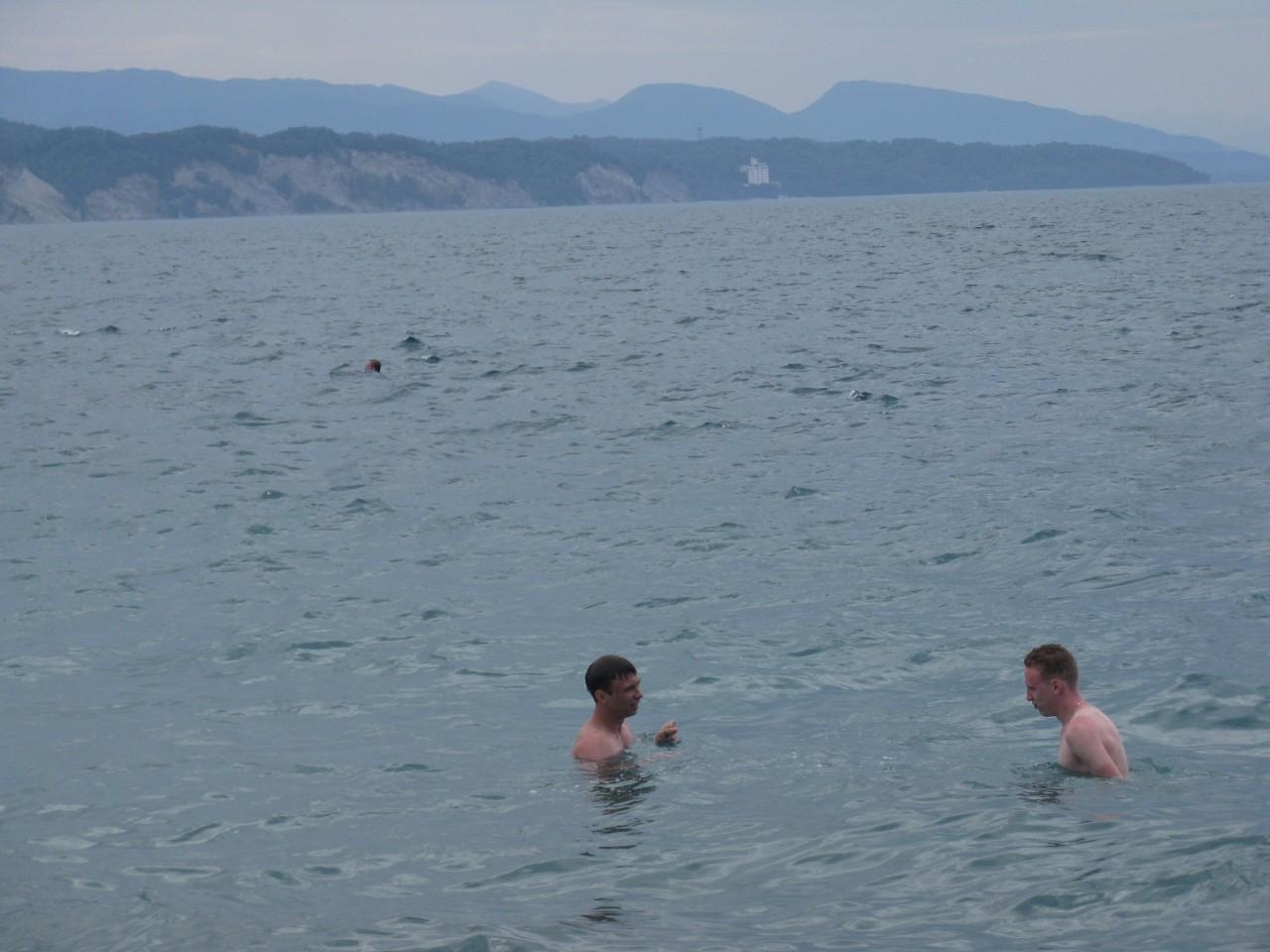 Купаемся с Серегой в самом ласковом море Черноморского побережья