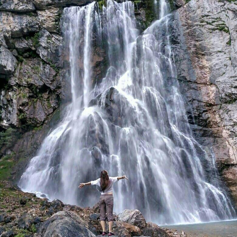 Мощь и величие Гегского водопада