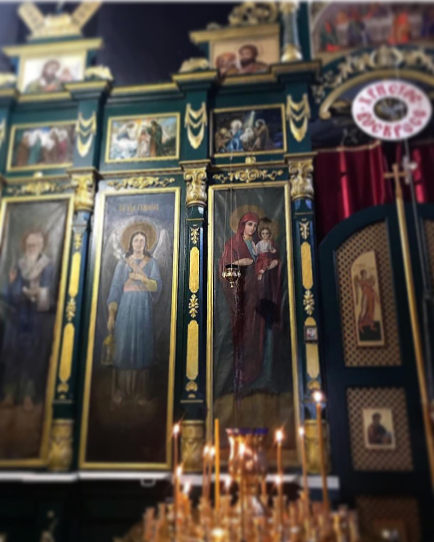 Иконы Илорского храма