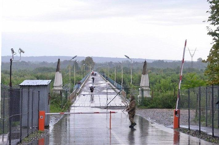 Абхазско-грузинская граница на реке Ингур закрыта и для абхазских граждан
